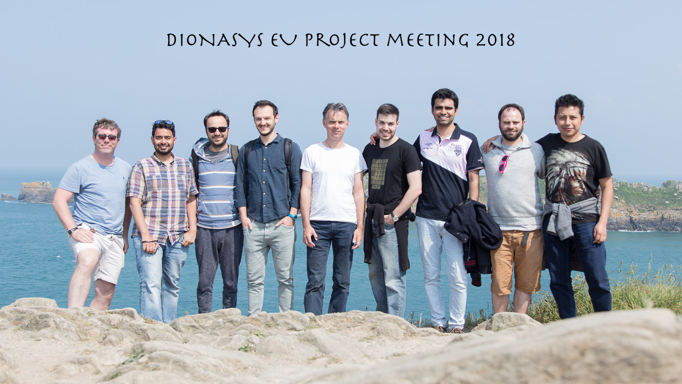 The DIONASYS project members in Bretagne, 2018